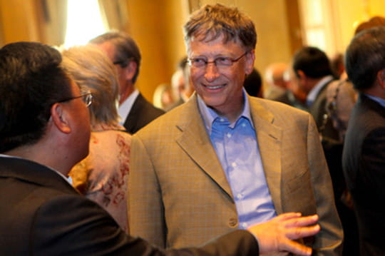 Bill Gates et Michael Larson