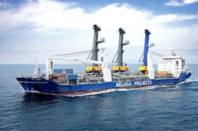 le beluga felicity, un des navires de beluga shipping quireliera dès 2009