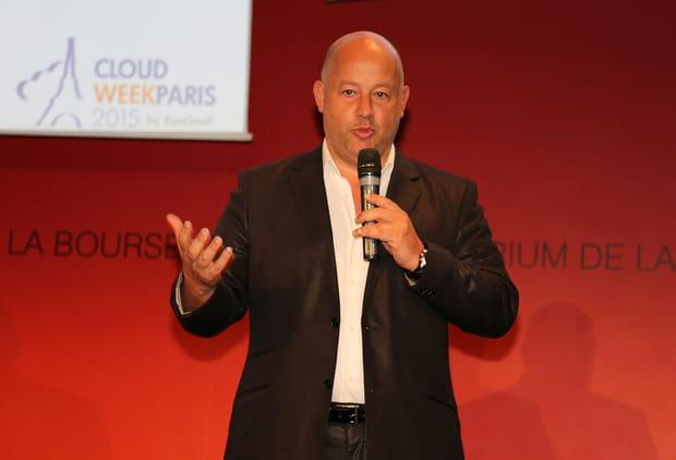Pierre-José Billotte, président d'EuroCloud France, clôture la Cloud Week Paris