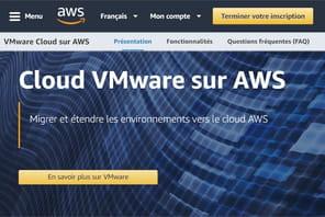 VMware accélère sa migration sur lecloud d'Amazon
