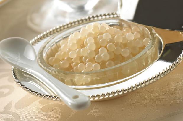 Du caviar d'escargot bio