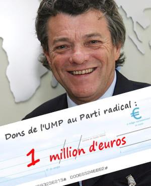 en 2009, le parti radical de jean-louis borloo a reçu 1million d'euros de