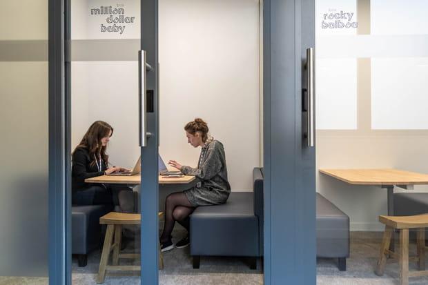 Des start-up en lien avec la banque et l'assurance