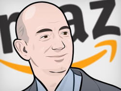 amazon, leader mondial de la vente sur internet.