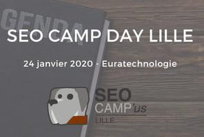 Rendez-vous le 24janvier pour le SEO Camp Day de Lille