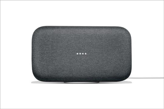 Home Max: l'enceinte vocale haut de gamme de Google sort en France
