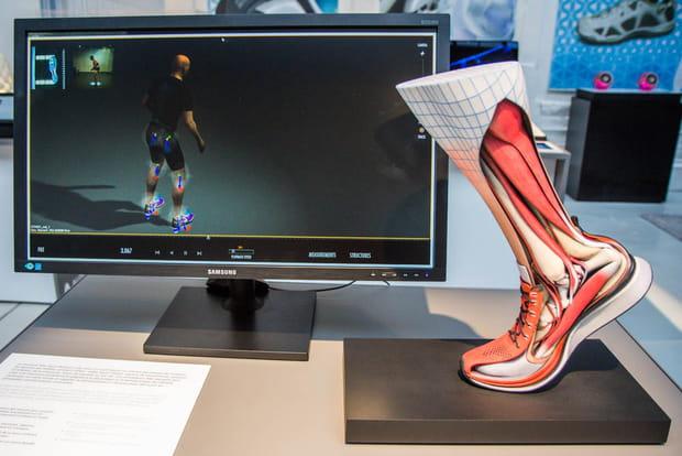 Chaussures hyper technologiques