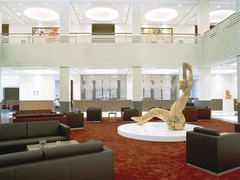 hall d'accueil du concorde berlin