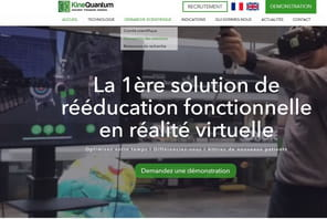 KineQuantum lève 1million d'euros pour la rééducation en réalité virtuelle