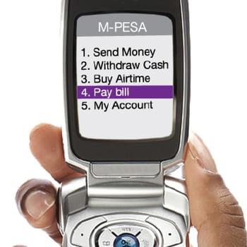le service bancaire sur mobile m-pesa