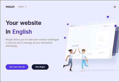 Weglot automatise l'internationalisation des sites web
