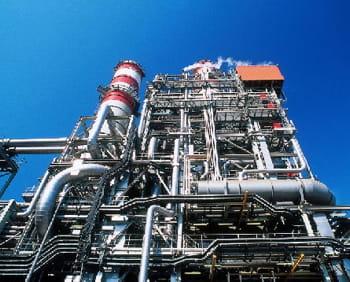 une centrale à cycle combiné gaz-électricité près de dunkerque.