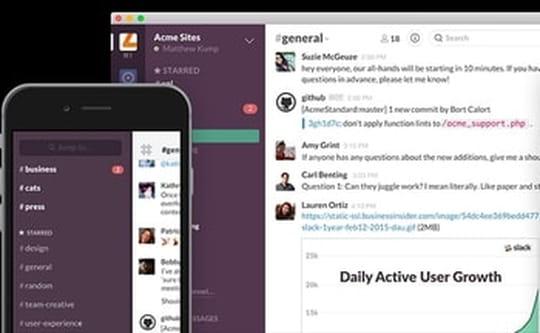 Slack passe le cap des 3 millions d'utilisateurs actifs