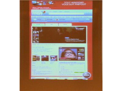surf sur le web à l'aide du nouvel internet explorer mobile