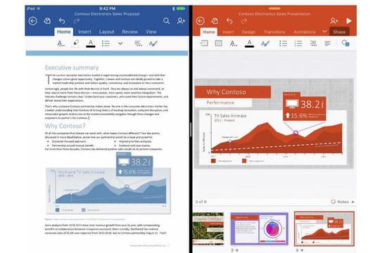 Comment Microsoft va adapter sa suite Office au nouvel iPad Pro