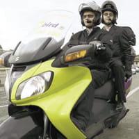 les journées de grève permettentaux mototaxis de se faire connaître.