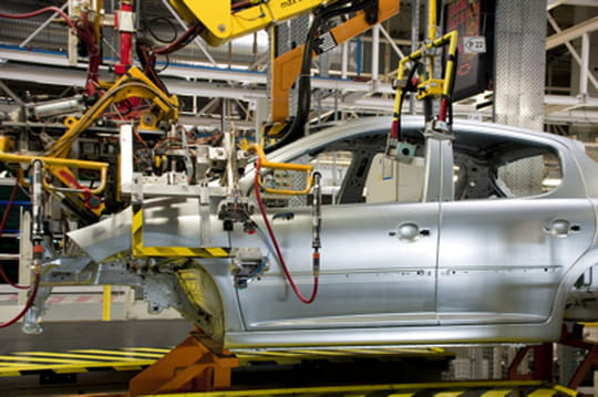 Coup d'accélérateur sur la production automobile en France