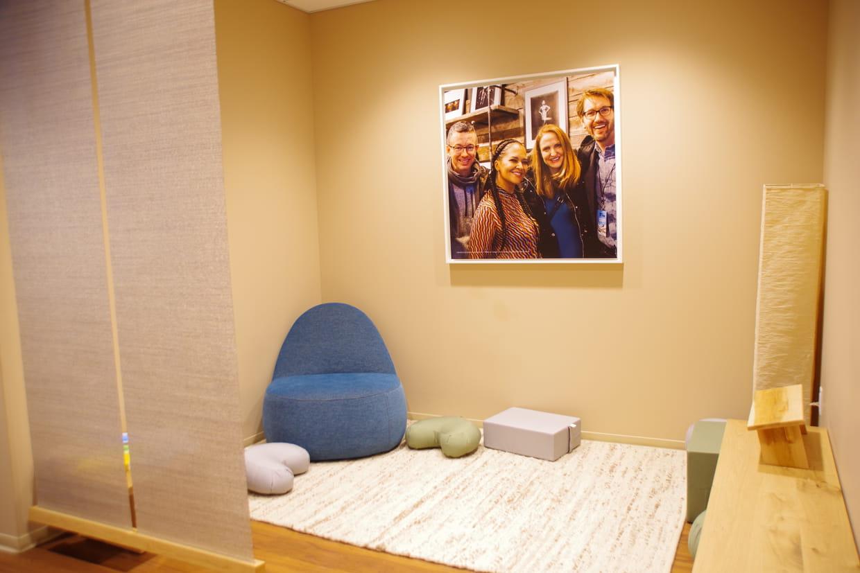 Décoration Salle De Méditation une salle de méditation dans chaque service