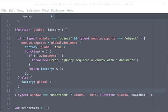 Javascriptau crible (définition)