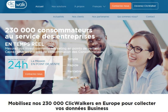 Clic and Walk lève 3,5 millions d'euros