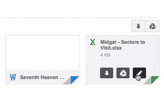 Google Apps : l'édition de documents Office améliorée dans Gmail
