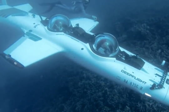 DeepFlight Super Falcon, le petit sous-marin préféré des milliardaires