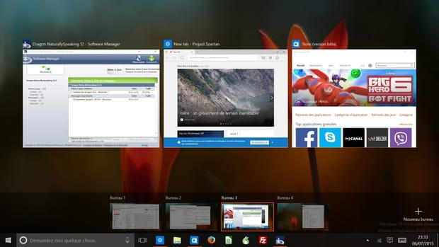 La possibilité de créer des bureaux virtuels