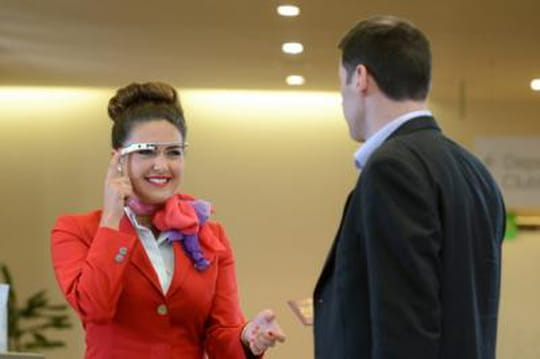 Virgin Atlantic teste les Google Glass
