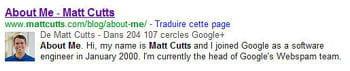 astucieux, google récompense les inscrits à google+ d'une meilleure visibilité