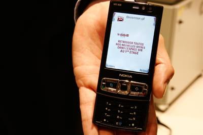 exemple de sms push reçu par bluetooth dans le studio sfr le 19/06/2008
