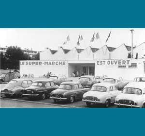 le premier auchan en 1961 à roubaix.