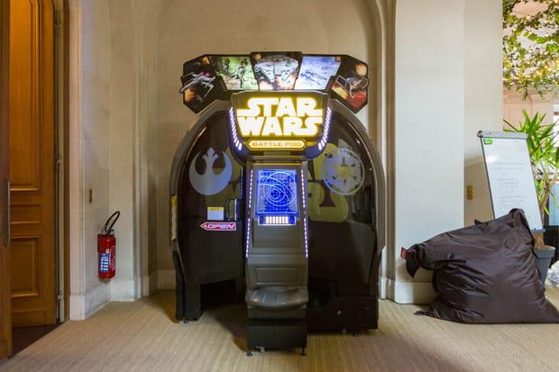 """Des parties d'arcade spécial """"Star Wars"""" pour les bons élèves"""