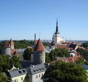 tallinn, la capitale de l'estonie.