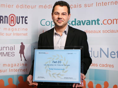 olivier audouze, directeur marketing de total immersion.