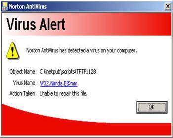 ce ver de messagerie de 2001 n'appréciait pas les serveurs microsoft iis.