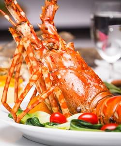 ne vous jetez pas sur le homard si vous êtes invité.