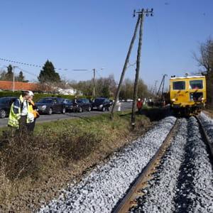 le chantier de modernisation de la ligne ferroviaire nantes- pornic- saint