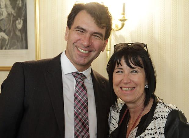 Bernadette Andrietti (Intel) et Nicolas Sekkaki (IBM)