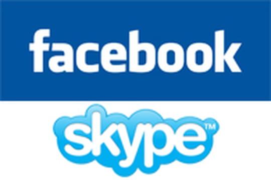 Facebook s'offre la visiophonie avec Skype