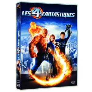 la pochette du dvd du film les quatre fantastiques.