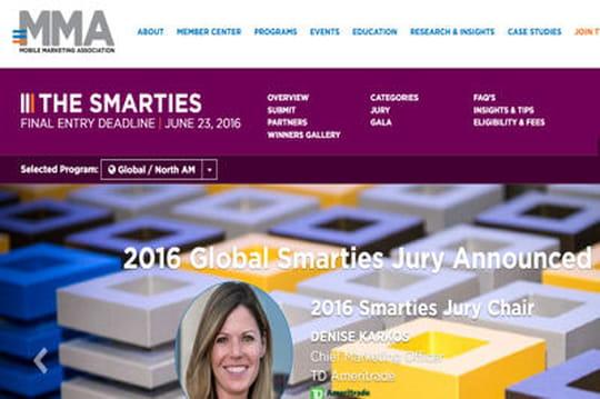 Candidatez aux trophées Smarties de l'innovation mobile