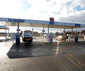 le prix du gazole dans les stations système u a baissé de 2,14% en 2009.