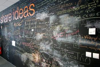 des lieux de créativité ont été mis en place au technocentre