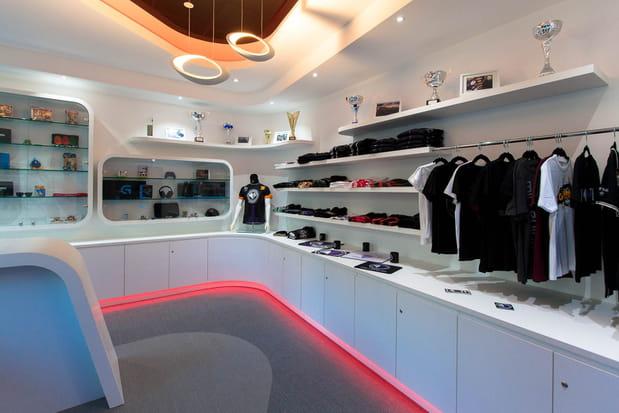 Une boutique d'accessoires entièrement modulable