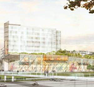 le centre commercial pont-de-vesle à reims comprendra 60boutiques sur