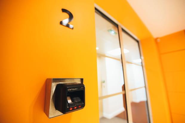 Des serrures biométriques pour la sécurité