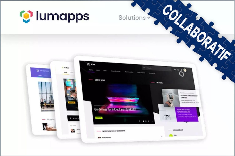 Avec l'envolée du télétravail, LumApps multiplie trafic, cas d'usage... et clients