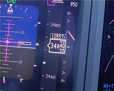 altitude de l'avion