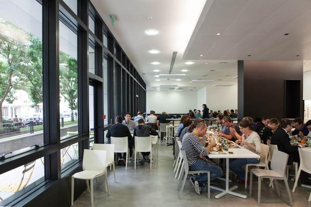 Un restaurant d'entreprise capable d'accueillir 200 personnes