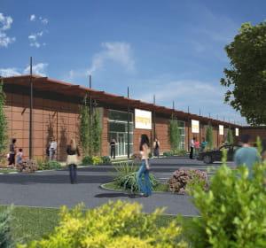 le nouveau parc d'activités commerciales à pissy-poville comprendra 11boutiques